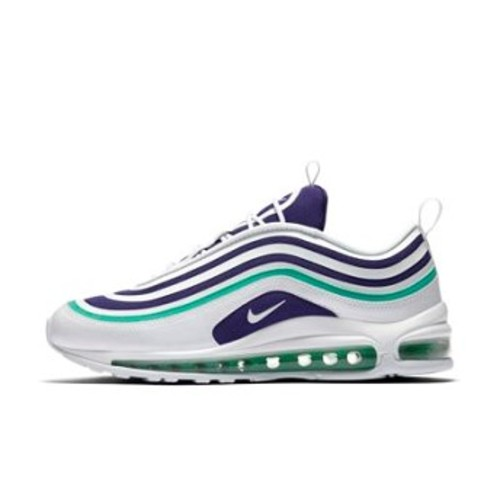 [해외] NIKE Nike Air Max 97 Ultra and x27;17 SE [나이키운동화.나이키런닝화] White/Court Purple/Emerald Green/White (AH6806-102)