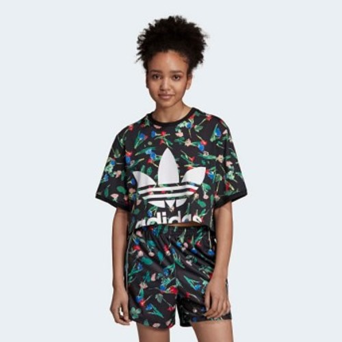 Womens Originals Allover Print Tee [아디다스 티셔츠] Multicolor (EC1876)