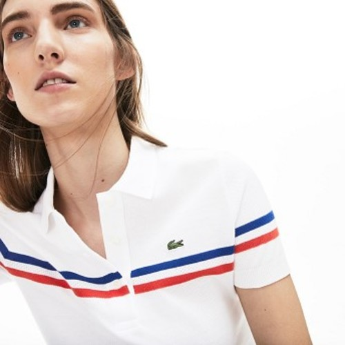 Womens Slim Fit Made In France Cotton Polo [라코스테 반팔,폴로티] (PF3923-51)