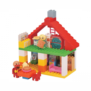 [해외]호빵맨 블록 실험실 - 커다란 빵 공장과 멋진 집  [호빵맨 장난감, 호빵맨 블럭]