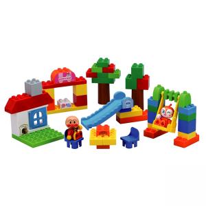 [해외]호빵맨 블록 실험실 - 타운 놀이터 [호빵맨 장난감, 호빵맨 블럭]