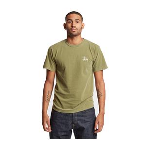 [해외]Stussy Pig.Dyed 티셔츠 Men's 올리브 [1903930-0403]