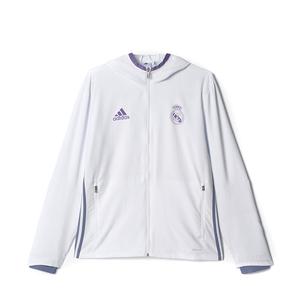 [해외]adidas 2016-17 레알마드리드 프레젠테이션 자켓 Men's 화이트 (일본사이즈) [AO3092]