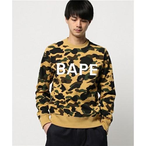 [해외]BAPE 1ST CAMO CREWNECK [베이프 긴팔 티셔츠] (263/16113263/16113263_31_D_125)