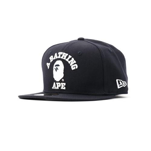 [해외]BAPE COLLEGE NEW ERA CAP [베이프 모자, 베이프 스냅백, 베이프 캠프캡] (389/14286389/14286389_16_D_125)