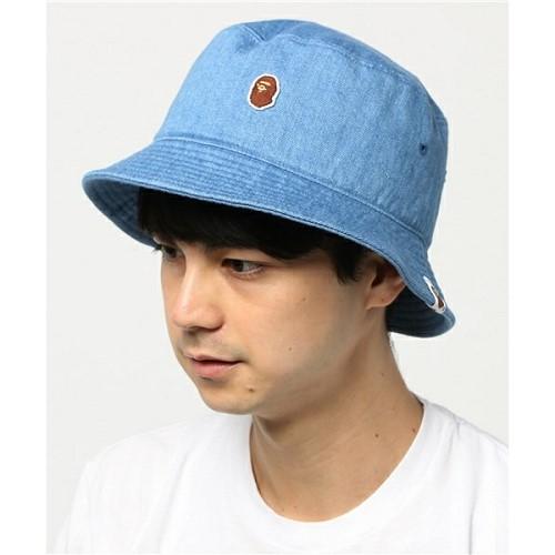 [해외]BAPE APE HEAD ONE POINT BUCKET HAT [베이프 모자, 베이프 스냅백, 베이프 캠프캡] (270/13947270/13947270_33_D_125)