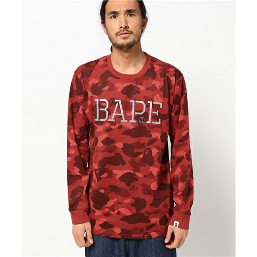 [해외]BAPE COLOR CAMO L/S 티셔츠 [베이프 티셔츠] (300/15079300/15079300_19_D_125)