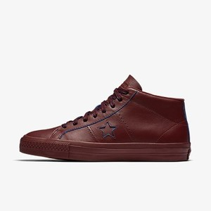 [해외] Converse CONS One Star Pro Rub-Off Leather Mid Top (155519C-625)