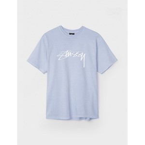 [해외]Stussy Smooth Stock Pigment Dyed 티셔츠 Mens [스투시 티셔츠] (1904086_CGRY_1)