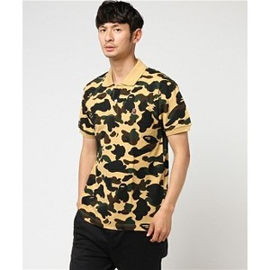 [해외]BAPE 1ST CAMO APE HEAD ONE POINT POLO M [베이프 티셔츠] (429/20827429/20827429_31_D_125)