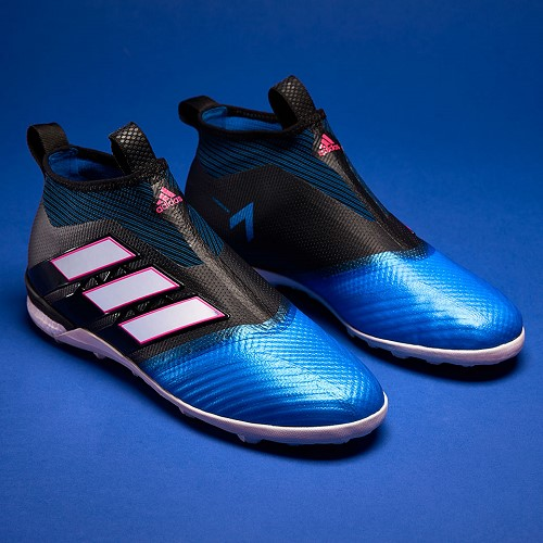 [해외] adidas ACE Tango 17+ Purecontrol TF - Core Black/White/Blue [아디다스 축구화, 풋살화, 터프화 S82079] (144565)