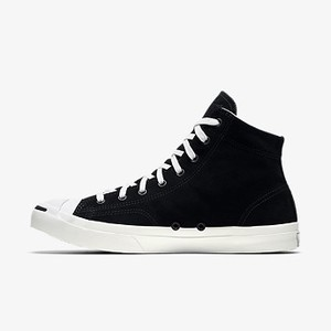 [해외] Converse Jack Purcell Jack Suede High Top [컨버스운동화,컨버스하이] (157710C-001)