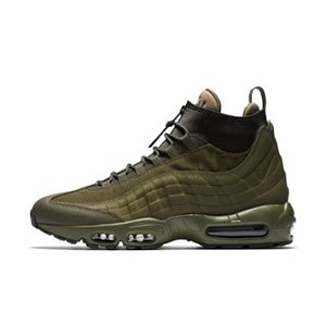 [해외] NIKE Nike Air Max 95 SneakerBoot [나이키운동화,나이키런닝화] Medium Olive/Sequoia/Sail/Medium Olive (806809-202)