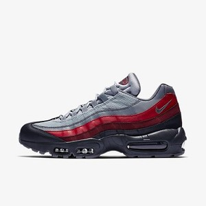 [해외] NIKE Nike Air Max 95 Essential [나이키운동화,나이키런닝화] Anthracite/Wolf Grey/Team Red/Cool Grey (749766-025)