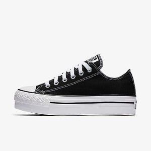 [해외] CONVERSE Converse Chuck Taylor All Star Platform Low Top Black (540266F-001)