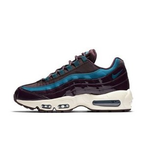 [해외] NIKE Nike Air Max 95 SE Premium Nocturne [나이키운동화,나이키런닝화] Port Wine/Port Wine/Light Orewood Brown/Space Blue (AH8697-600)