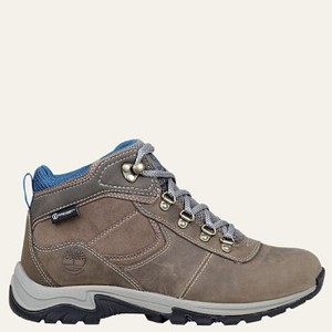 [해외] Timberland Womens Mt. Maddsen Mid Waterproof Hiking Boots [팀버랜드 부츠] Grey Full-Grain (A1NRW110)