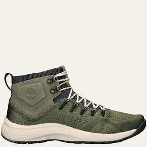 [해외] Timberland Men's FlyRoam™ Trail Mixed-Media Boots [팀버랜드 부츠] Green Full-Grain/Mesh (A1NY7301)