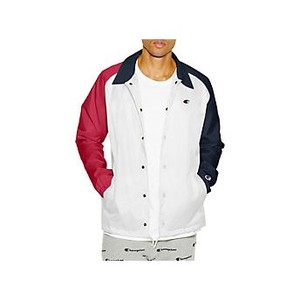 [해외] Champion Life Mens Coaches Jacket, West Breaker Edition (V0100)