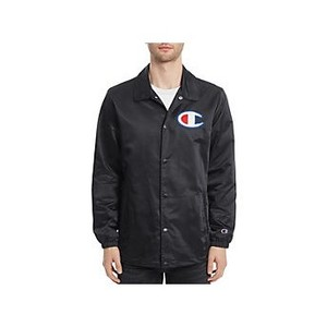 [해외] Champion Europe Mens Coaches Jacket and mdash;Limited Edition Black (211088)