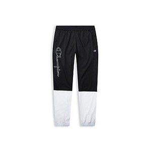 [해외] Champion Europe Premium Mens Track Pants Black/White (CEM85P)