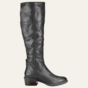 [해외] Timberland Womens Sutherlin Bay Tall Slouch Boots [팀버랜드 부츠] Black Full-Grain (A1T33015)