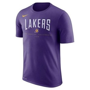 [해외] NIKE Los Angeles Lakers Nike Dri-FIT [나이키티셔츠] Court Purple (los-angeles-lakers-dri-fit-mens-nba-t-shirt-t4q59H)