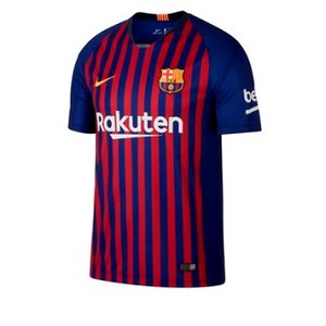 [해외] NIKE 2018/19 FC Barcelona Stadium Home (Gerard Pique) [나이키티셔츠] Deep Royal Blue/Deep Royal Blue/Noble Red/Universi (BV6143-459)