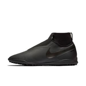 [해외] NIKE Nike Phantom Vision Pro Dynamic Fit TF [나이키축구화] Black/Anthracite/Light Crimson/Black (phantom-vision-pro-dynamic-fit-turf-soccer-shoe-wr)