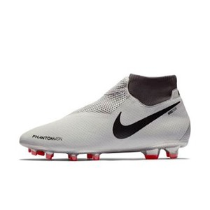 [해외] NIKE Nike Phantom Vision Pro Dynamic Fit FG [나이키축구화] Pure Platinum/Light Crimson/Dark Grey/Black (AO3266-060)