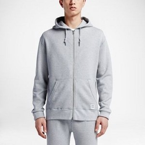 [해외] CONVERSE Converse Essentials Sportswear Full-Zip Light Grey Heather (10000655-022)