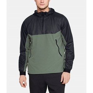 [해외] Underarmour Mens UA Unstoppable GORE® WINDSTOPPER® ½ Zip Windbreaker [언더아머자켓,언더아머운동복] Black (1317901-002)