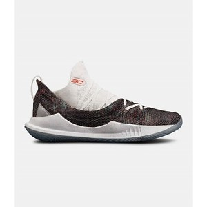 [해외] Underarmour Mens UA Curry 5 Basketball Shoes [언더아머운동화] White (3020657-107)