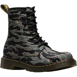 [해외] Dr. Martens 1460 Camo 8 Eye Boot Youth [닥터마틴,닥터마틴8홀] Green Jungle Camo T Canvas (1855044)
