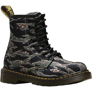 [해외] Dr. Martens 1460 Camo 8 Eye Boot Junior [닥터마틴,닥터마틴8홀] Green Jungle Camo T Canvas (1855031)
