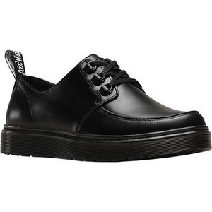 [해외] Dr. Martens Walden Moc Toe Sneaker [닥터마틴,닥터마틴8홀] Black Brando Full Grain Waxy Leather (1849691)