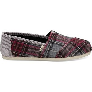 [해외] TOMS Back to School Plaid Womens Classics [탐스슬립온,탐스슈즈] (889556535033)