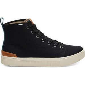 [해외] TOMS Black Canvas Mens TRVL LITE High Sneakers [탐스슬립온,탐스슈즈] (889556502196)