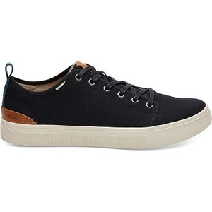 [해외] TOMS Black Canvas Mens TRVL LITE Low Sneakers [탐스슬립온,탐스슈즈] (889556502585)