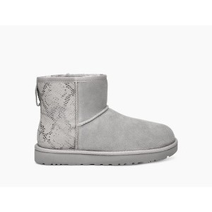 [해외] Classic Mini Metallic Snake Boot [UGG 어그] SILVER (1101472)
