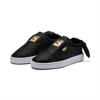 [해외] PUMA プーマ W BASKET TWIST バスケットツイスト 369301 01BK/TEAM GOLD [퓨마 신발] 01BK/TEAM GOLD (5873790001044)