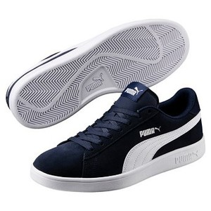 [해외] PUMA プーマ PUMA SMASH V2 プーマ スマッシュV2 364989 04PEACOAT/WH [퓨마 신발] 04PEACOAT/WH (5747960005044)