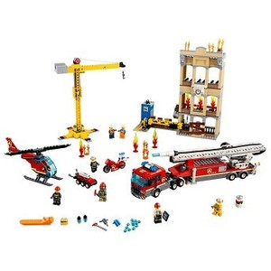 [해외] LEGO Downtown Fire Brigade [레고 장난감] (60216)