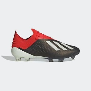 [해외] Soccer X 18.1 Firm Ground Cleats [아디다스 축구화] Core Black/Cloud White/Active Red (BB9345)