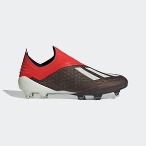 [해외] Soccer X 18+ Firm Ground Cleats [아디다스 축구화] Core Black/Cloud White/Active Red (BB9335)