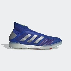 [해외] Soccer Predator Tango 19+ Turf Shoes [아디다스 축구화] Bold Blue/Silver Metallic/Football Blue (BB9082)