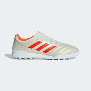 [해외] Soccer Copa 19.3 Turf Shoes [아디다스 축구화] Off White/Solar Red/Cloud White (BC0558)