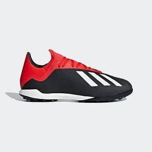 [해외] Soccer X Tango 18.3 Turf Shoes [아디다스 축구화] Core Black/Off White/Active Red (BB9398)