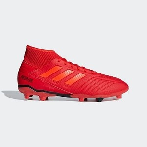 [해외] Soccer Predator 19.3 Firm Ground Cleats [아디다스 축구화] Active Red/Solar Red/Core Black (BB9334)