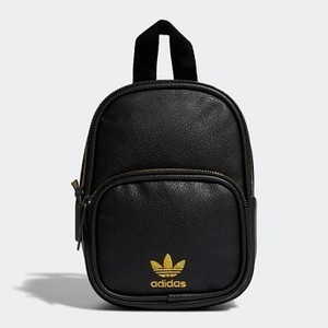 [해외] Womens Originals Faux Leather Mini Backpack [아디다스 백팩] Black (CK5083)
